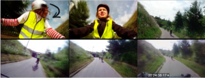 Paul McIlvenny uses video mobile methods to explore the socialities of group cycling.